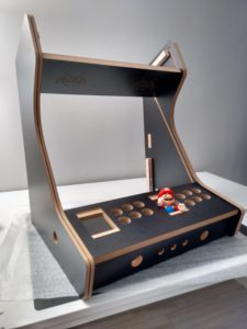Estructura máquina recreativa bartop arcade kit