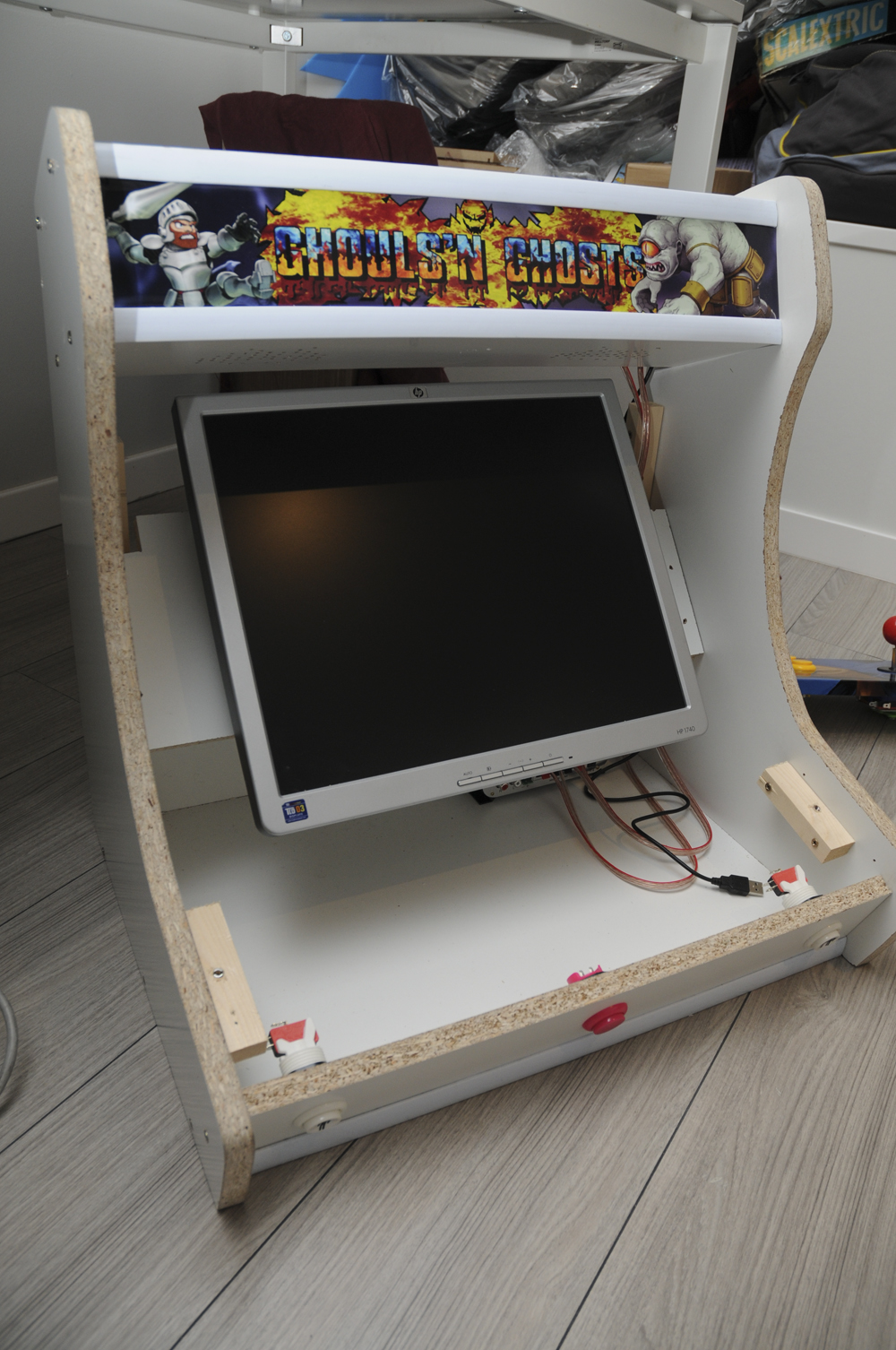 Tutorial: Montar máquina recreativa arcade Bartop. Montar estructura